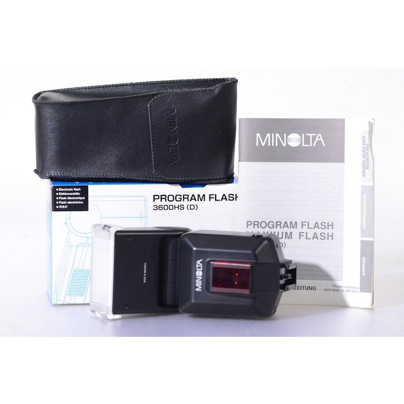 Minolta Programm Blitz 3600HS D