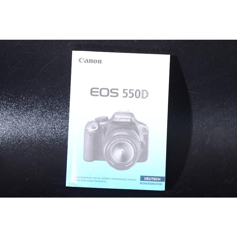 Canon Anleitung EOS 550D