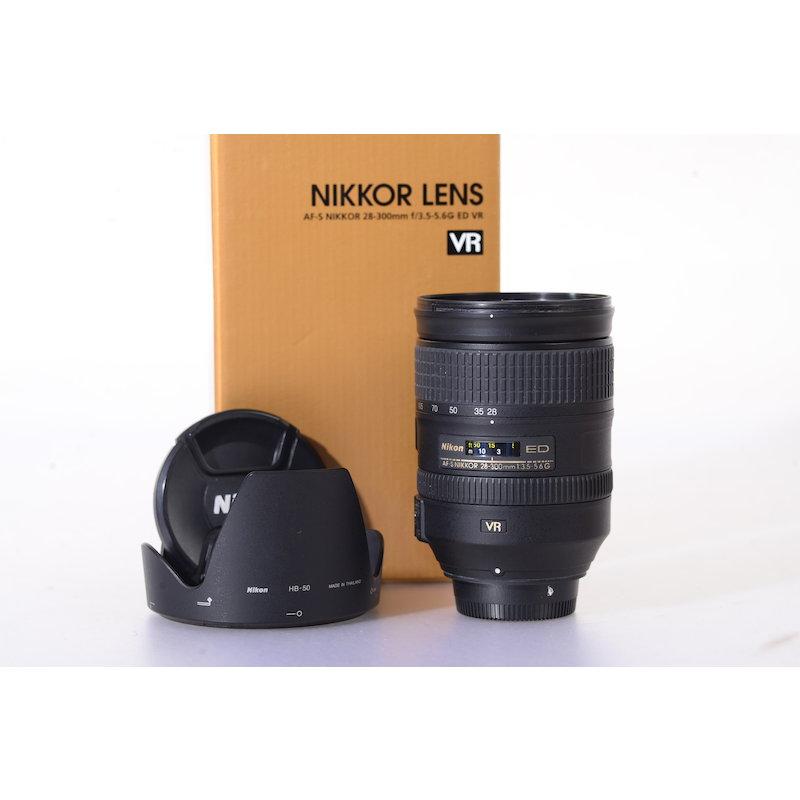 Nikon AF-S 3,5-5,6/28-300 G ED VR #JAA808DA