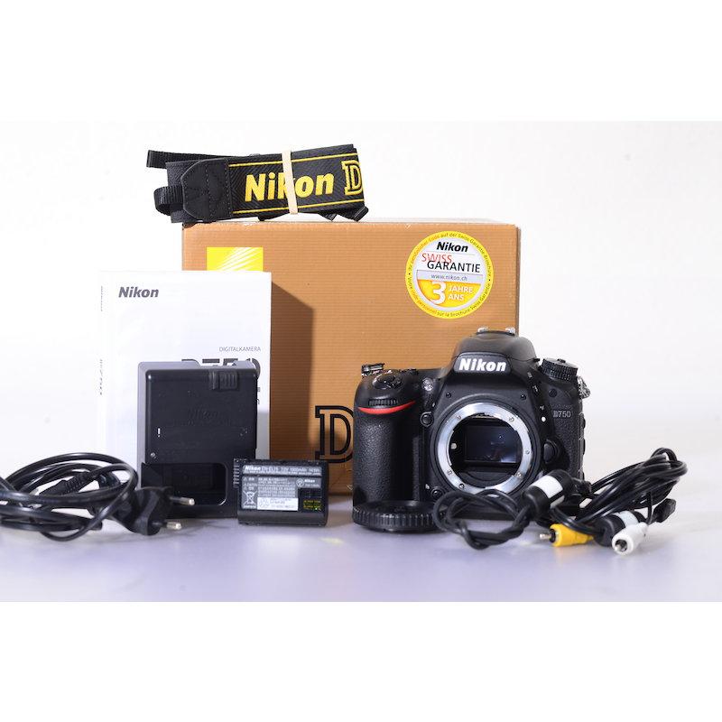 Nikon D750 #VBA420AE (74925 Auslösungen)