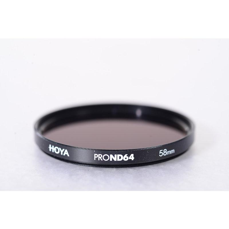 Hoya Graufilter Pro ND-64 E-58