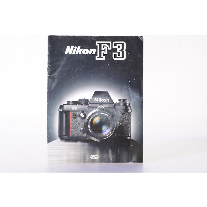 Nikon Prospekt F3 1980