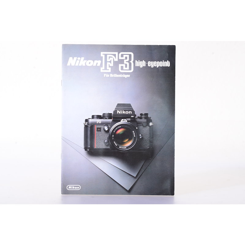 Nikon Prospekt F3 High-Eyepoint für Brillenträger
