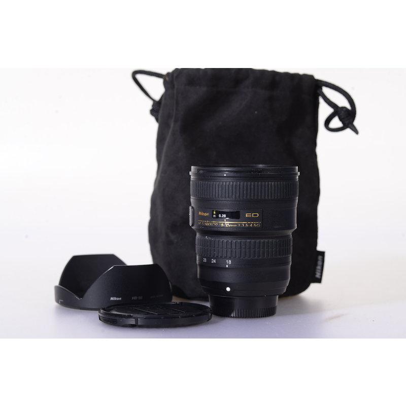 Nikon AF-S 3,5-4,5/18-35 G ED #JAA818DA