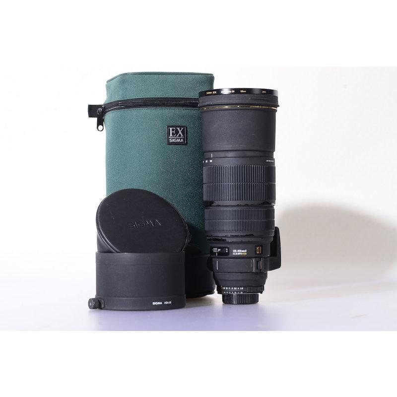 Sigma EX 2,8/120-300 APO DG HSM NI/AF D (Filter fest verschraubt)