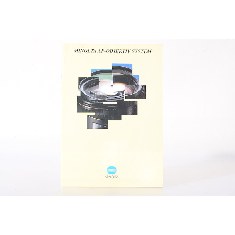 Minolta Prospekt AF-Objektiv System