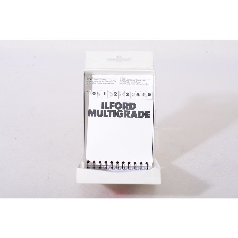 Ilford Multigrade Filtersatz 8,9x8,9cm #762628