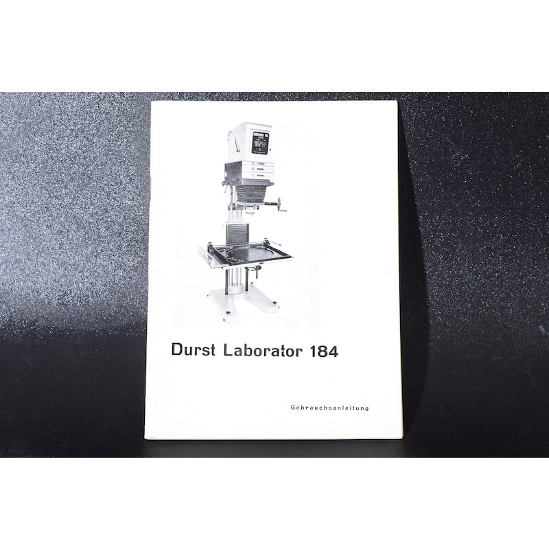 Durst Anleitung Laborator L-184