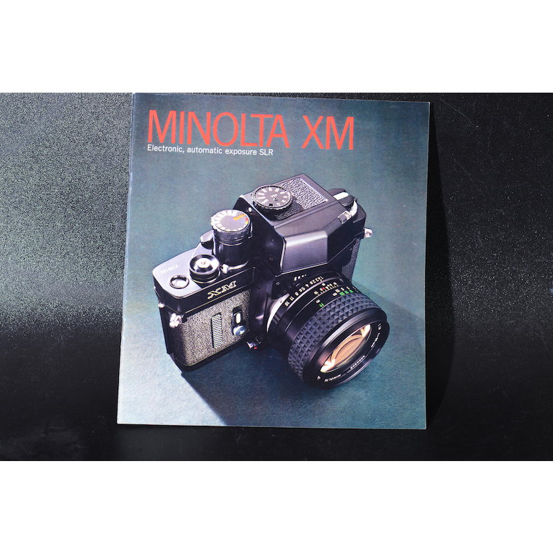 Minolta Anleitung XM