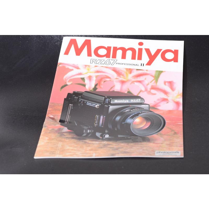 Mamiya Prospekt RZ67 II