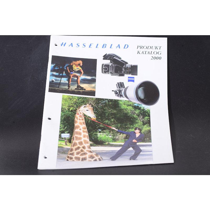 Hasselblad Produktkatalog 2000