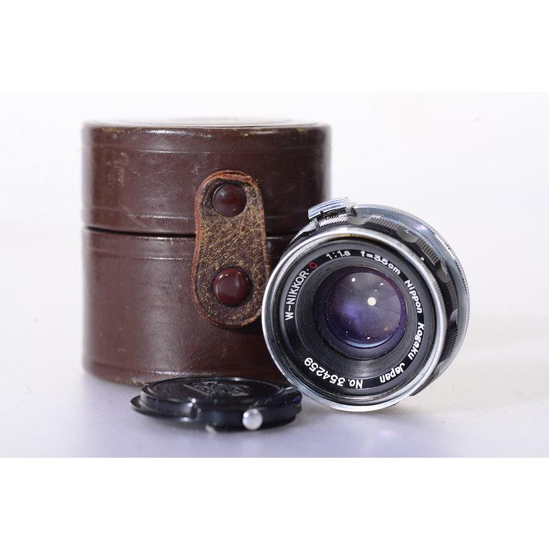 Nikon Nippon Kogaku W-Nikkor C 1,8/3,5cm RF