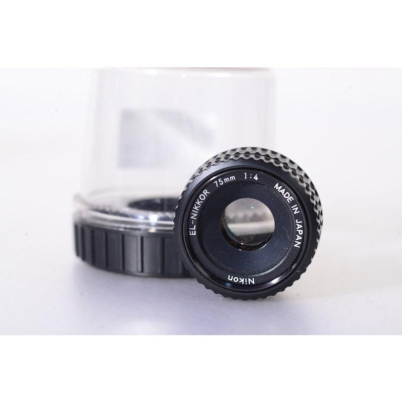 Nikon EL-Nikkor 4,0/75 N M39