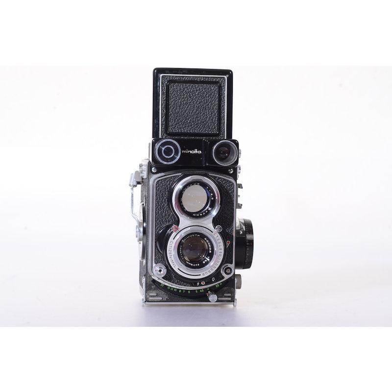 Minolta Autocord+Rokkor 3,5/75 6x6