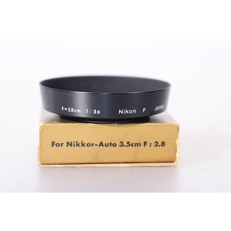 Nikon Geli.-Blende Metall E-52 AI 3,5/28