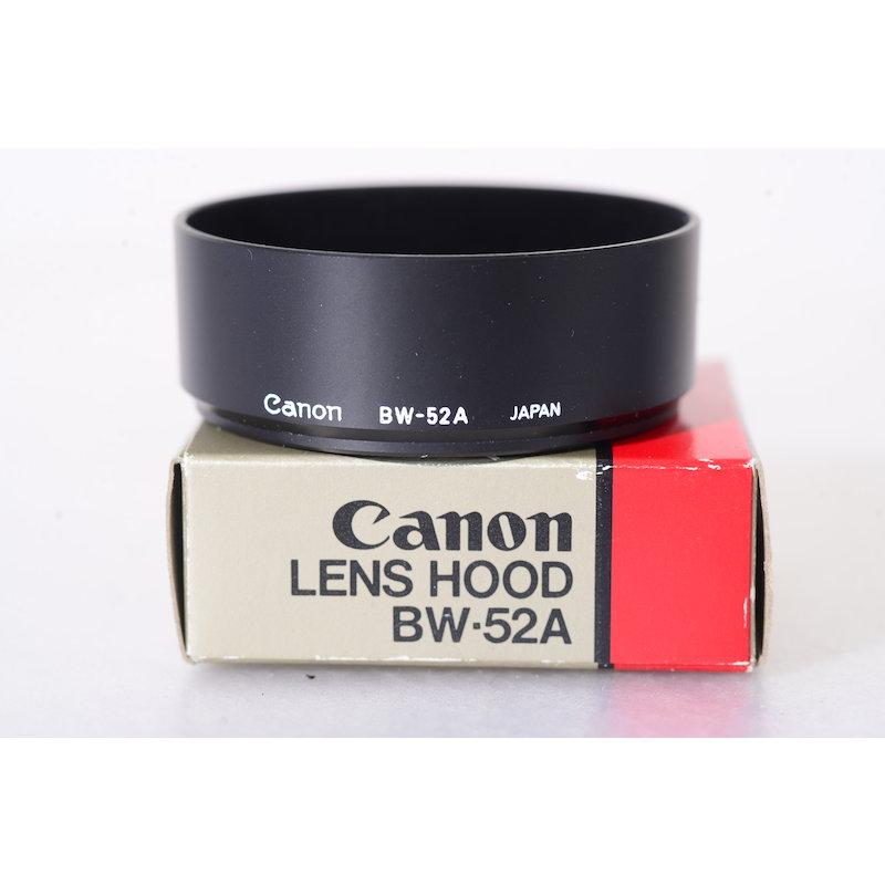 Canon Geli.-Blende BW-52A FD 2,0/35