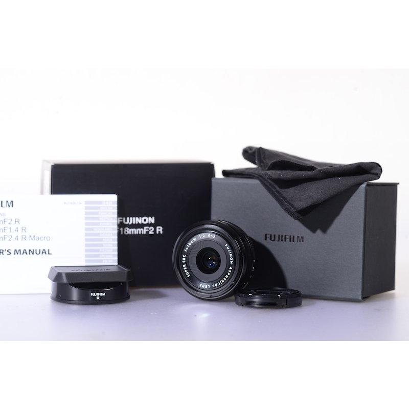 Fujifilm Fujinon Super EBC XF 2,0/18 R