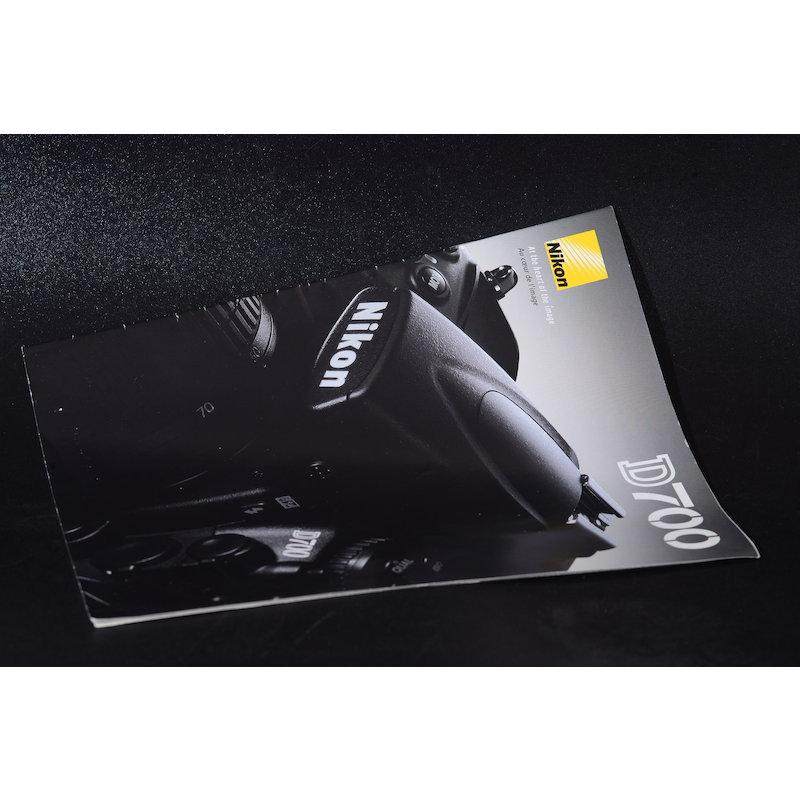 Nikon Prospekt D700