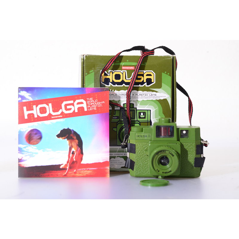 Lomography Holga Flash Camera Starter Kit Olive