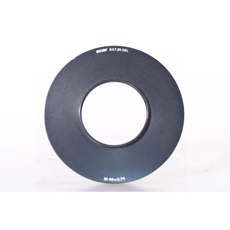 Sinar Filtersystem Adapterring E-49