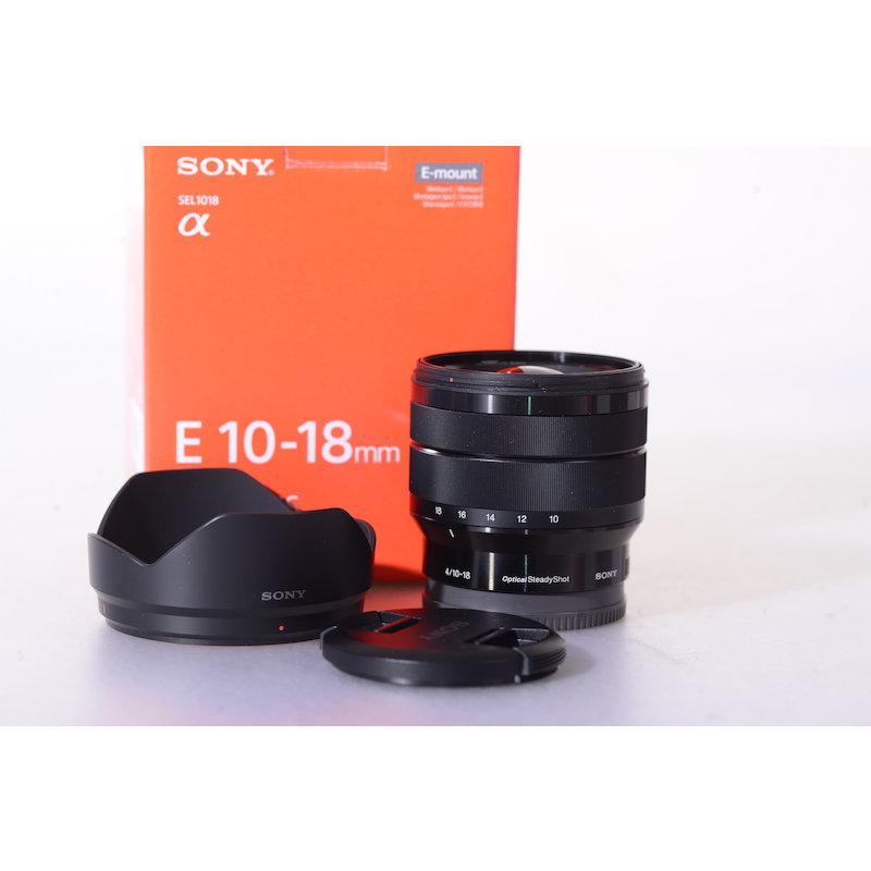 Sony E 4,0/10-18 OSS E-Mount #SEL1018