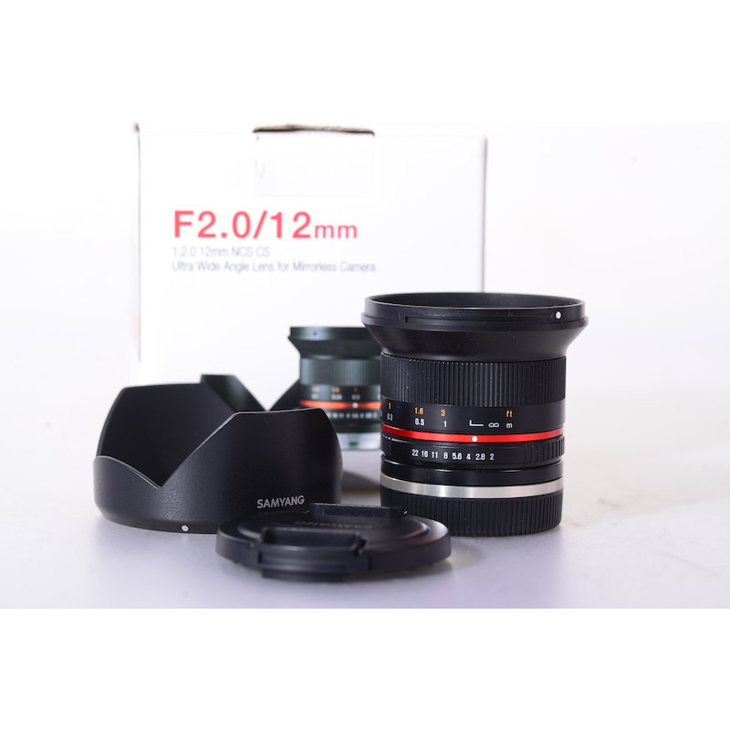 Samyang NCS 2,0/12 CS Sony E-Mount