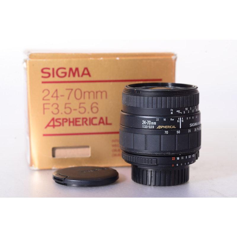 Sigma ASP 3,5-5,6/24-70 NI/AF D
