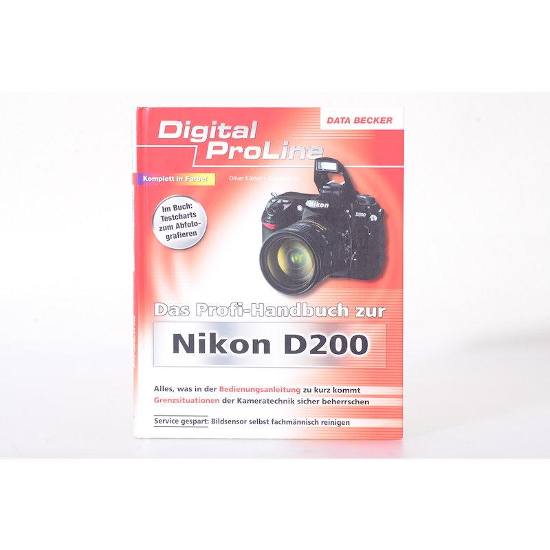 Laterna Das Profihandbuch zur Nikon D200 (Jörg Walther)