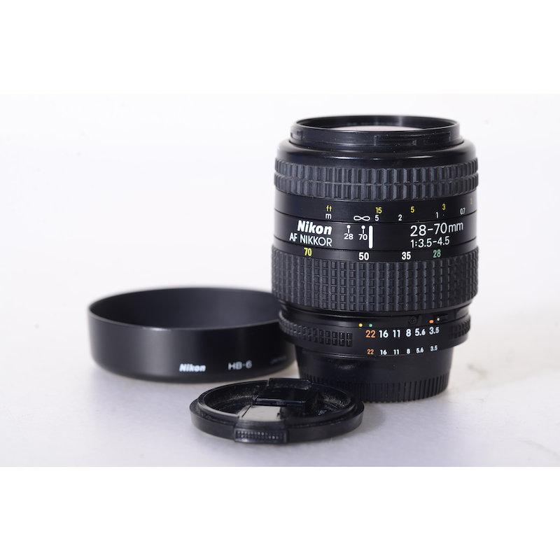 Nikon AF 3,5-4,5/28-70 D (Zoomring/Entfernungseinstellung schwergängig)
