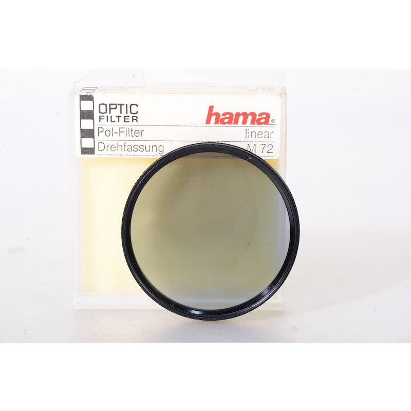 Hama Polfilter Linear E-72 #750/720