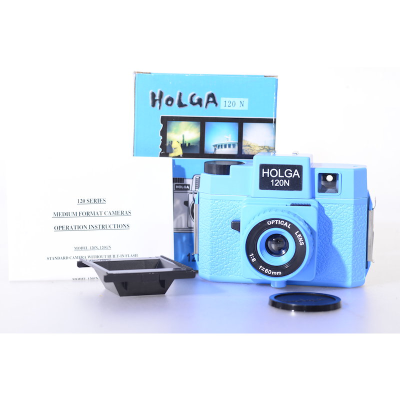 Holga 120N Blau