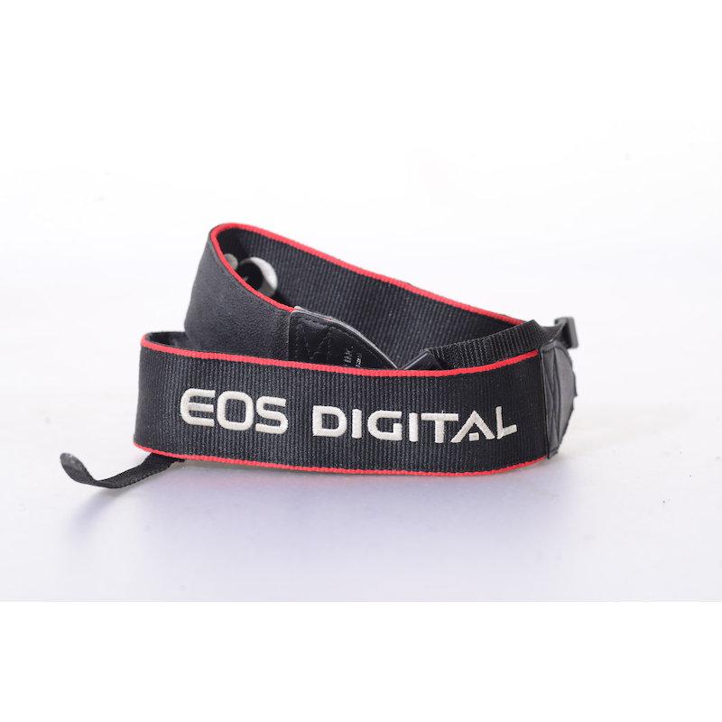 Canon Trageriemen EOS Digital Schwarz-Rot-Silber