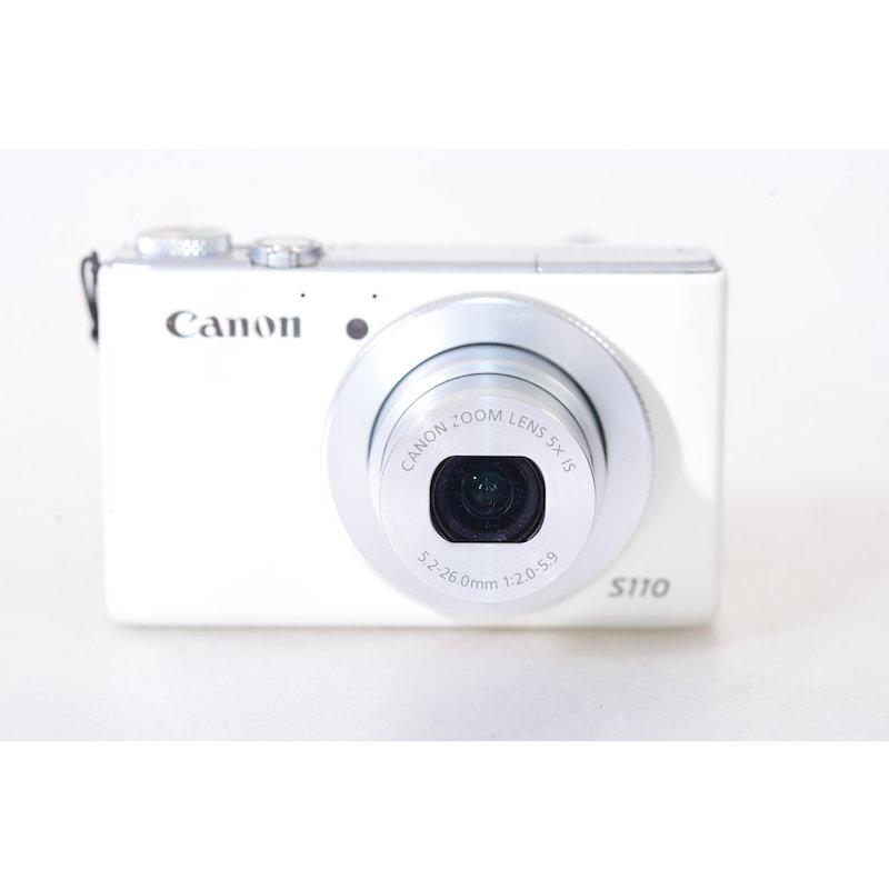 Canon Powershot S110 Weiss (Ersatzteillager)