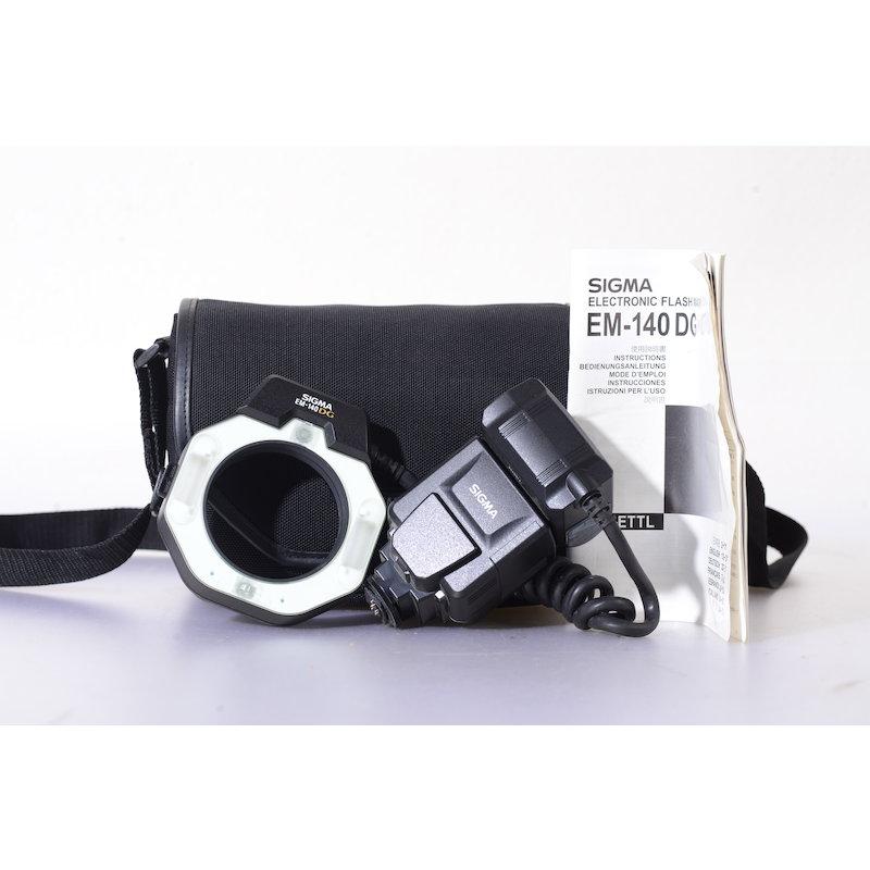 Sigma Makro Ringblitz EM-140 DG C/EF