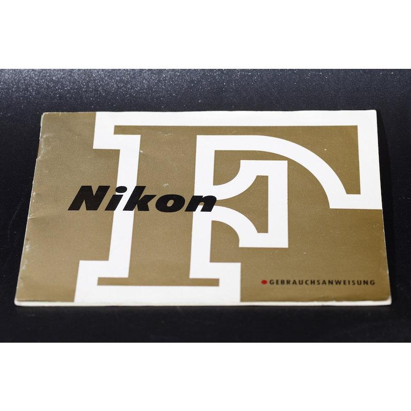 Nikon Anleitung F