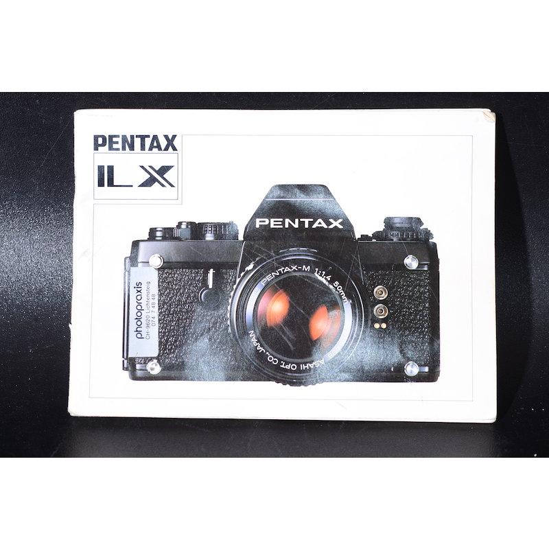 Pentax Anleitung LX