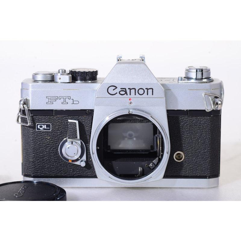 Canon FTb QL Silber