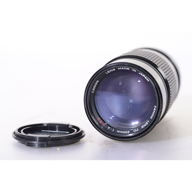 Canon FD 4,0/200 S.S.C.