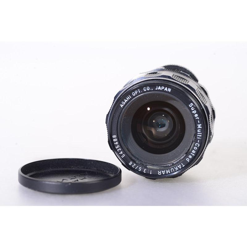 Pentax SMC Takumar 3,5/28 M42 (Blende Lahm)