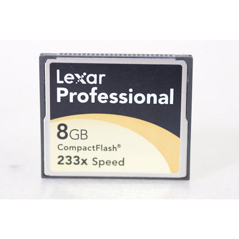 Lexar Compact-Flash Karte 233x 8GB UDMA
