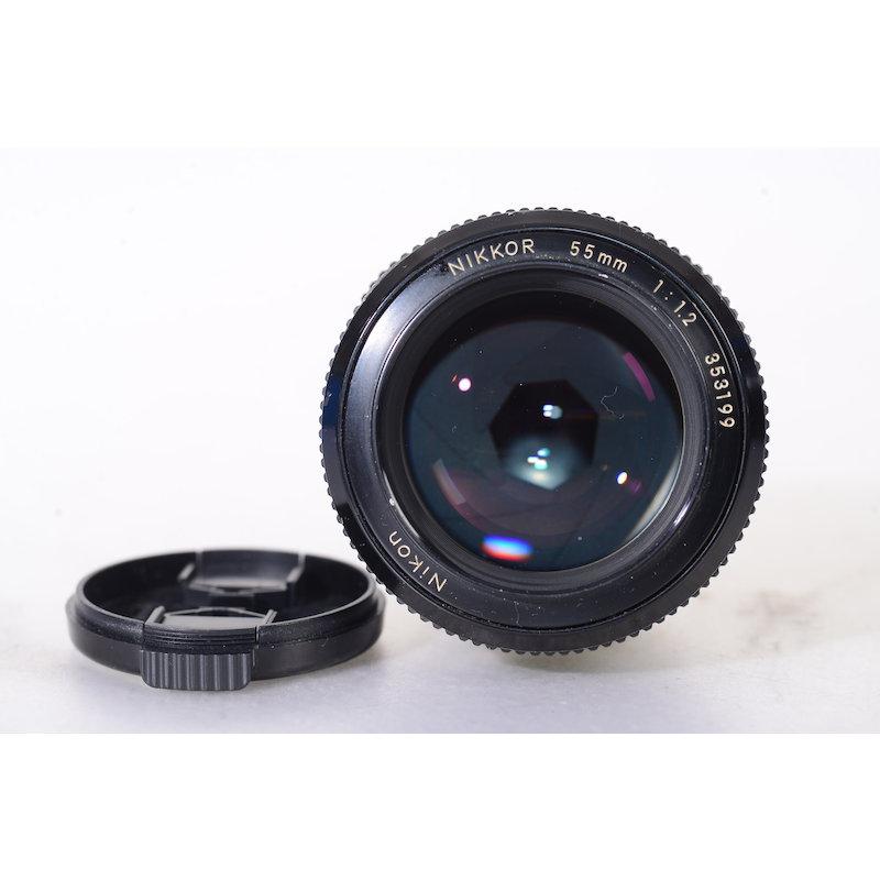 Nikon 1,2/55 Ai (Staub im Inneren)