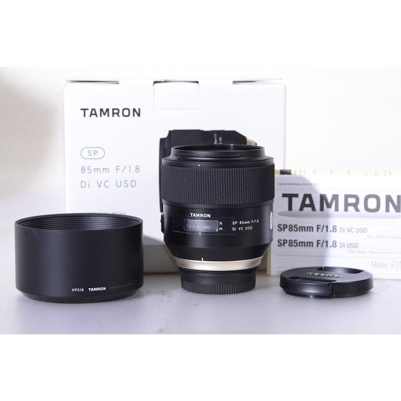 Tamron SP 1,8/85 DI VC USD NI/AF (Kleiner Einschluss in den Linsen)