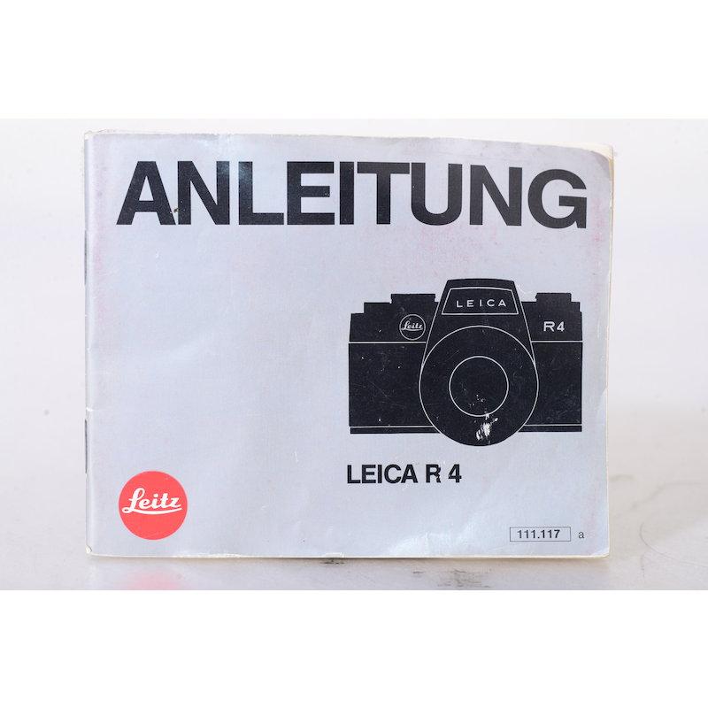 Leitz Anleitung Leica R4
