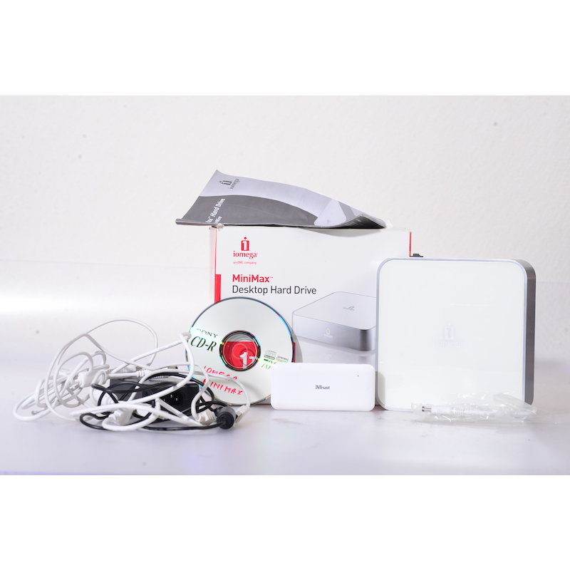 Iomega Mini Max Desktop Hard Drive 1TB