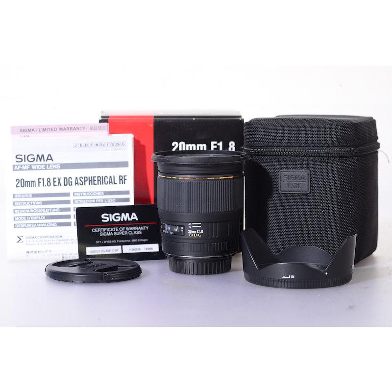 Sigma EX 1,8/20 DG RF ASP C/EF #411927