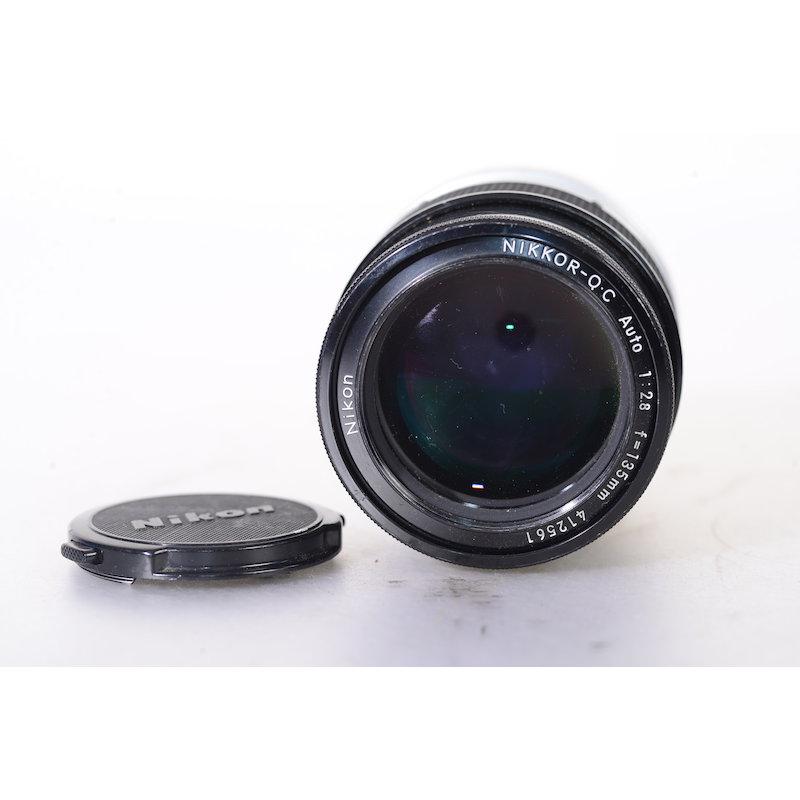 Nikon Auto Q 2,8/135 (Kratzer Frontlinse)