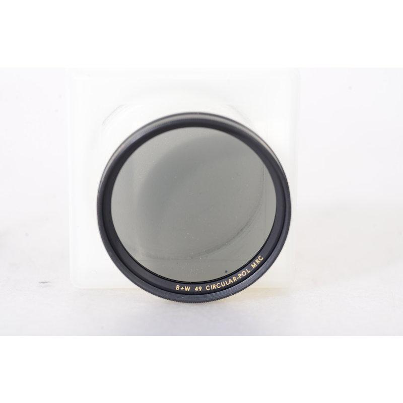 B+W Polfilter Zirkular MRC E-49