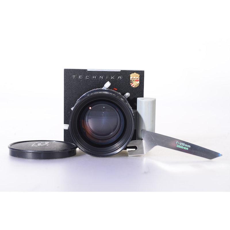 Schneider Componon 5,6/210 Compur Electronic 1+Linhof 96x99 Objektivplatte