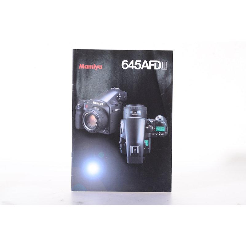 Mamiya Prospekt M645AFD II