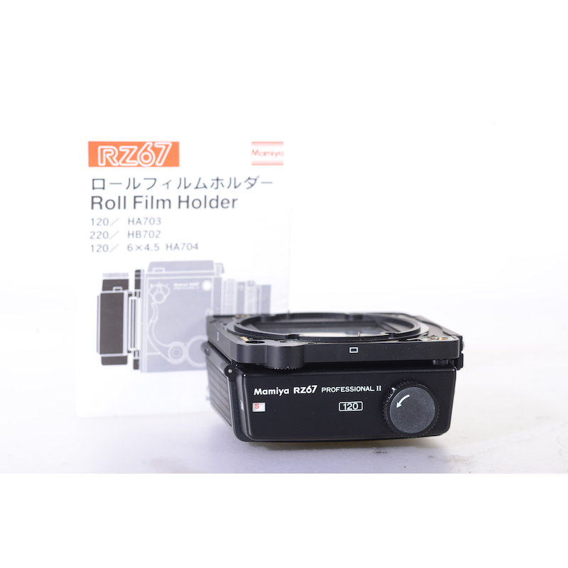 Mamiya Rollfilmkassette 120 6x7 RZ67 II #524221
